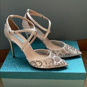 Wedding Shoes! Worn once - great condition!